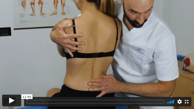 Video 14 - DORSAL, LUMBAR Myofascial Techniques